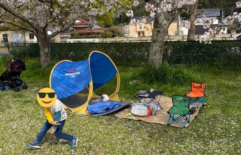 桜キャッチをしている写真2