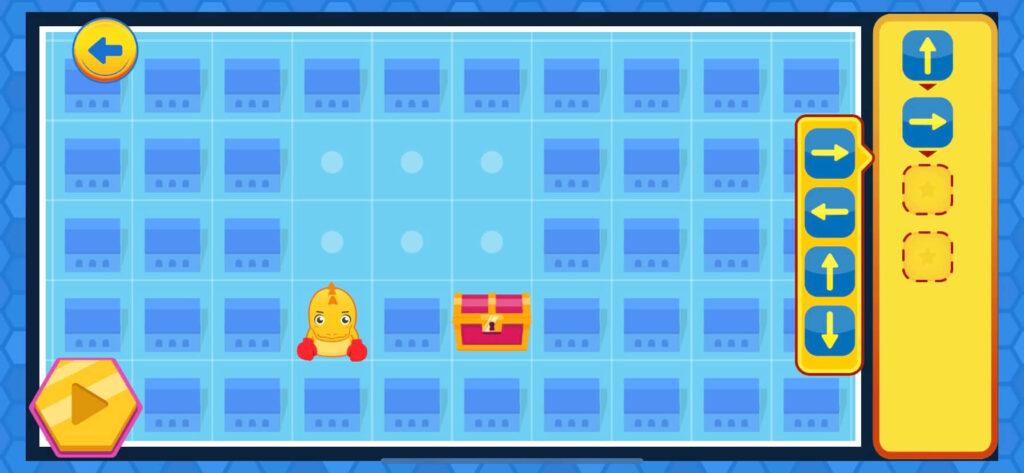コードクラフターズのゲームの写真