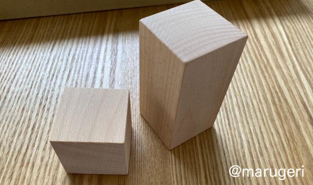 穴なしブロックの写真