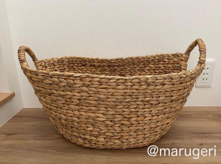 ニトリのバスケットの写真