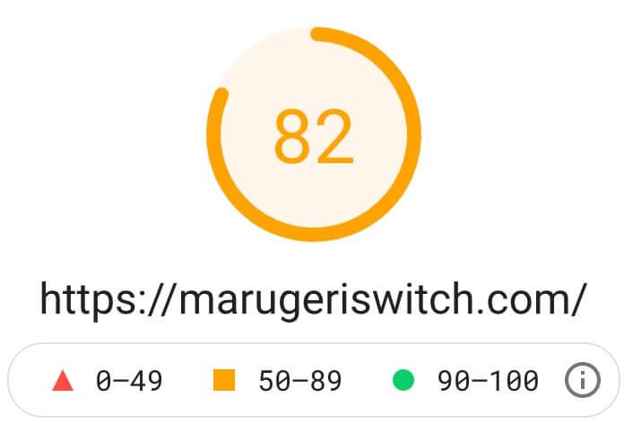 アフィンガー6・モバイルの表示速度